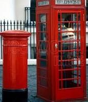 mail box and phone box