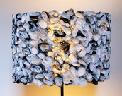6 - Ruffled Lamp Shade