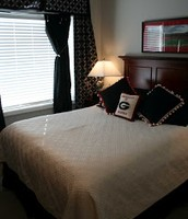 UGA decorated bedrooms