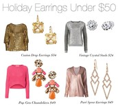 Earrings for every Outfit under $50
