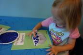Blueberry Basket Art