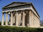 GREEK TEMPLE UNDER ALEXANDER THE GREAT'S RULE