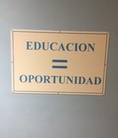 La educación es igual a oportunidad