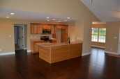 Eat in Kitchen w/ Granite Counter Tops