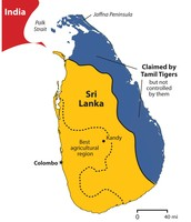 Tamil Tigers Map