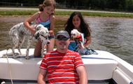 Boating With the Dogs