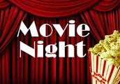 Kindergarten Movie Night . . .
