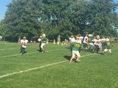 Carleton playing some defense.
