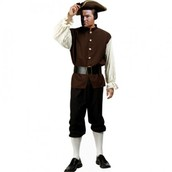 Paul Revere as a young soldier