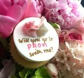 PROMposal Cupcake