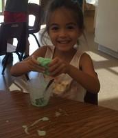 Maya and her goo!