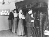 San Diego telephone company begins operation
