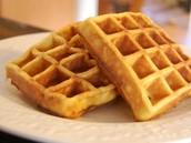 Letter W: Waffles