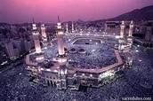 When he reach Holy City Of Mecca