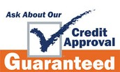 No credit or bad credit?  We can help!