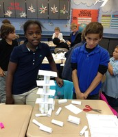 Tallest Structure with Index Cards Challenge