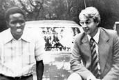 Steve Biko and Donald Woods