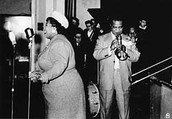 Ma Rainey and Louis Armstrong