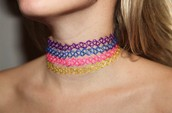 Choker for necklace