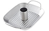 BBQ Roasting Pan & Can Holder
