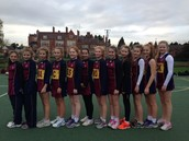 Netball Team through to Nationals