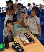 5K improve their skills with a game of Monopoly