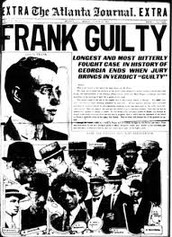 Leo Frank is convicted guilty of the crime!