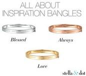 Inspiration Bangle - Always