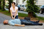 Example of a real person doing cpr