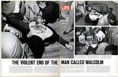 Malcolm X's Death Shocks Civil Rights Community