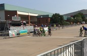 Starting them young!  Criterium races in Wichita Falls!