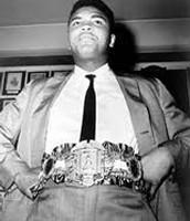 Heavy weight champion belt