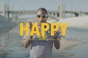 feliz/ alrgre = happy