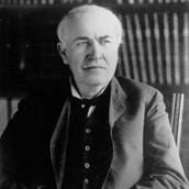 24.  Thomas Edison