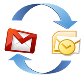 How can I send my mail from iNOTES/LOTUS to my Gmail?
