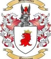 El escudo de armas de Schröder