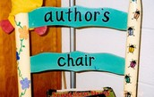 What is Author's Chair?