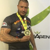 Dirk Ventor World Powerlifting Champion