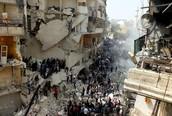 Syrian War Devastation