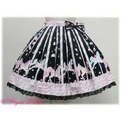 Night at the Carousel Skirt