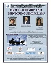FIRST LEADERSHIP AND MENTORING SEMINAR 2015