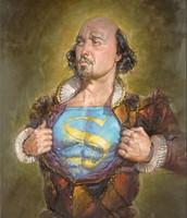 Shakespeares a superhero apparently