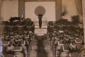 School Auditorium in 1930s