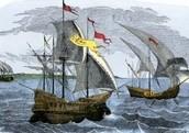 Hernando Cortes's ship