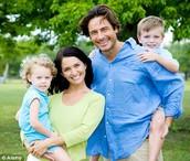 Una familia tradicional en el día moderno