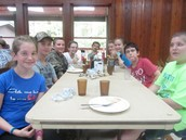 Lunch table!
