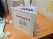 My extra credit book-Earthquake unit
