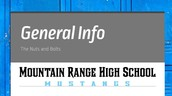 Mountain Range High School General Information