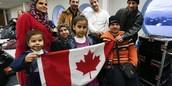 Combien d'eux a reussi avec du succes a immigrer au Canada...