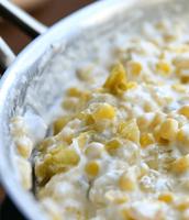 Cream Cheese & Corn!